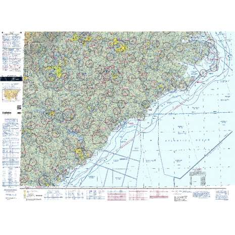 Sectional Charts, FAA Chart:  VFR Sectional CHARLOTTE