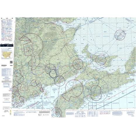 Sectional Charts :FAA Chart:  VFR Sectional HALIFAX