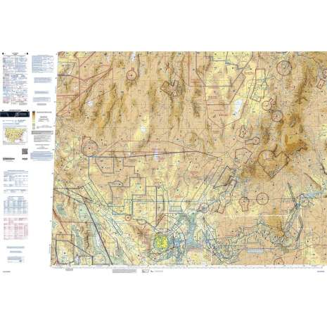 Sectional Charts :FAA Chart:  VFR Sectional LAS VEGAS