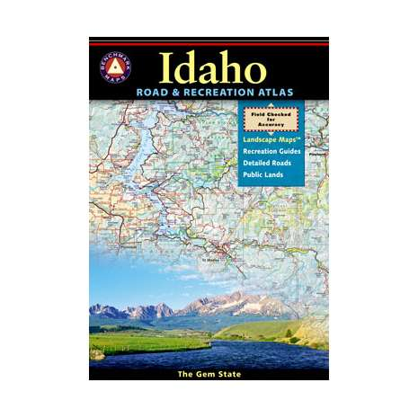 Rocky Mountain and Southwestern USA Travel & Recreation, Idaho Road & Recreation Atlas