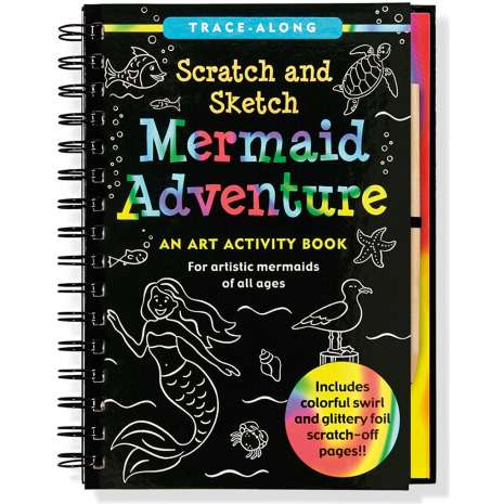 Mermaids, Scratch and Sketch: Mermaid Adventure