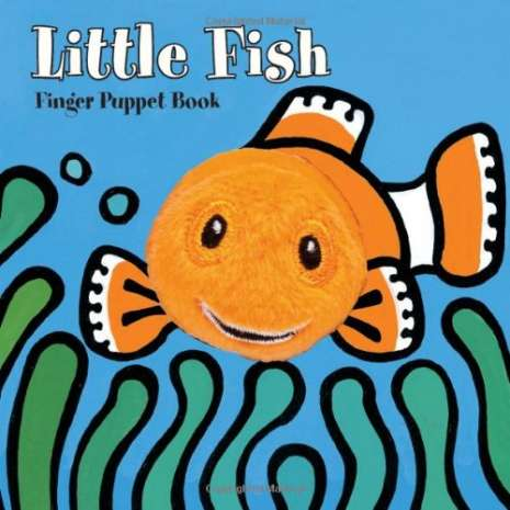 Fish, Sealife, Aquatic Creatures, Little Fish: Finger Puppet Book