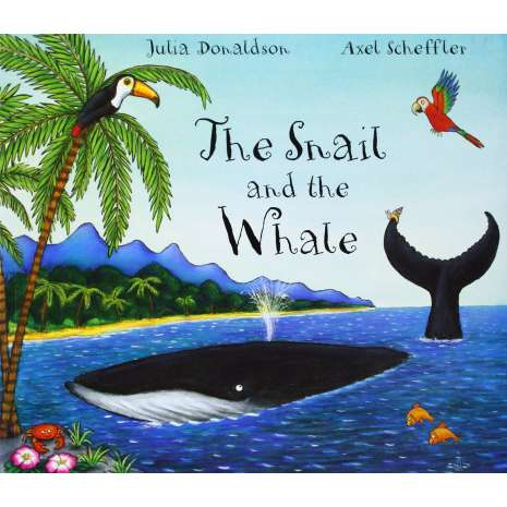 Fish, Sealife, Aquatic Creatures :The Snail and the Whale