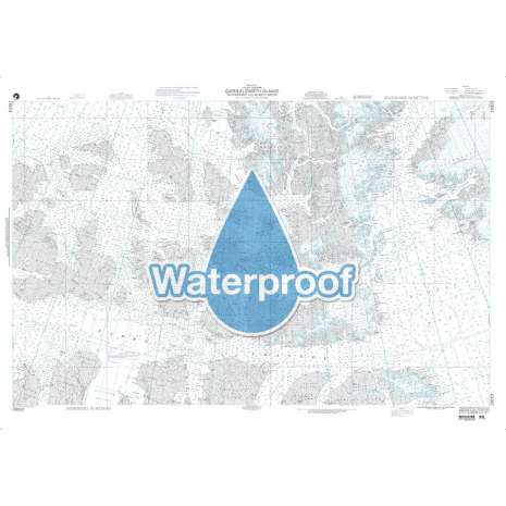Region 1 - North America :Waterproof NGA Chart 15023: Queen Elizabeth Islands - Southern Part