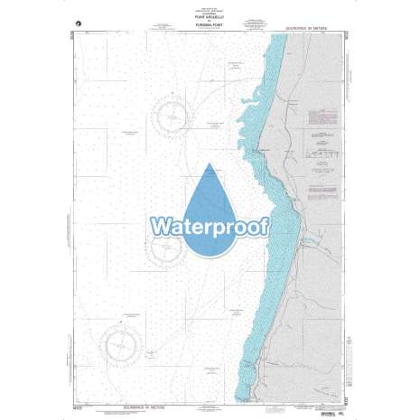 Region 1 - North America :Waterproof NGA Chart 18722: Point Arguello to Purisima Point