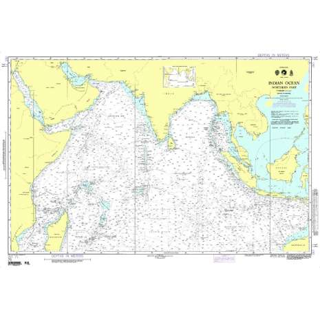 Miscellaneous International, NGA Chart 71: Indian Ocean Northern Portion