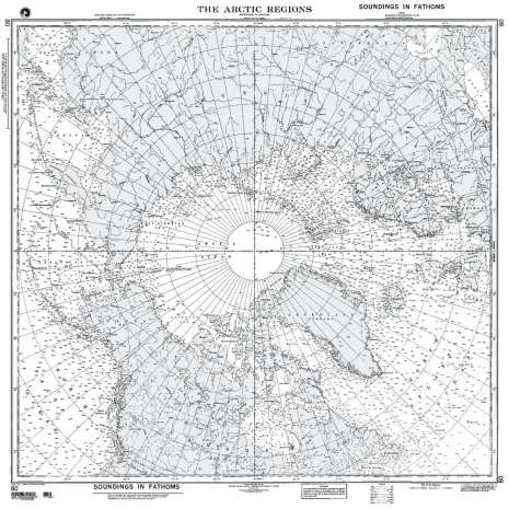 Miscellaneous International :NGA Chart 80: the Arctic Regions