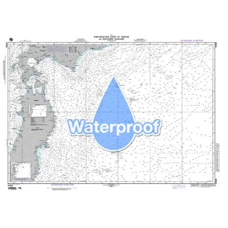 Region 9 - Eastern Asia, South Eastern Russia, Philippines :Waterproof NGA Chart 97005: Northern Coast of Honshu and Southern Hokkaido