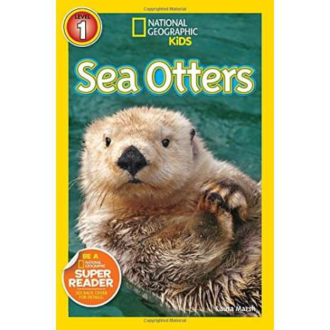 Fish, Sealife, Aquatic Creatures :National Geographic Readers: Sea Otters