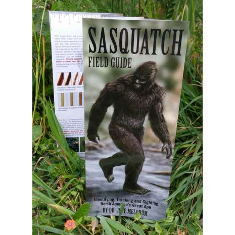 Bigfoot, Sasquatch, Sasquatch Field Guide (Folding Pocket Guide)