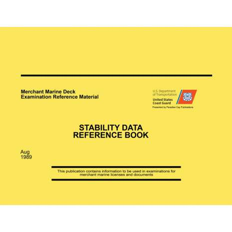 Professional Mariners, Stability Data Reference Book