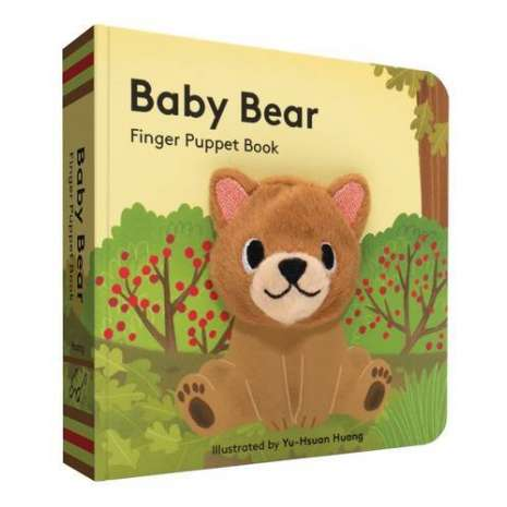 Baby Animals :Baby Bear: Finger Puppet Book