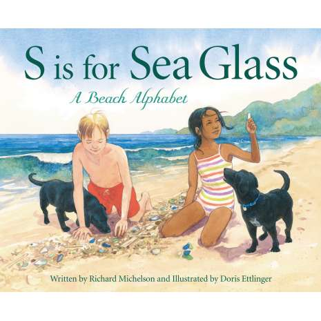 Ocean & Seashore, S is for Sea Glass: A Beach Alphabet