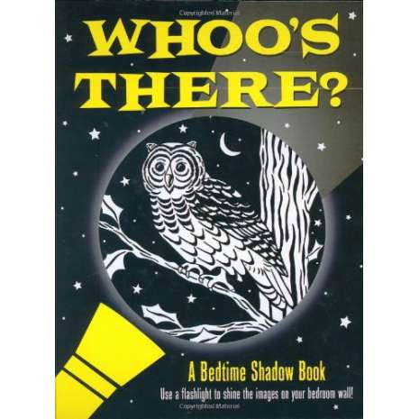 Books for Zoo Gift Shops :Whoo's There?: A Bedtime Shadow Book