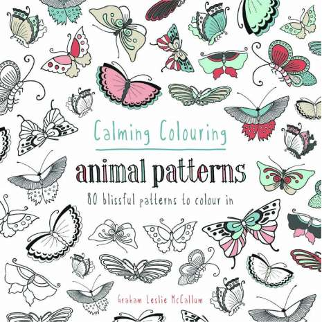Coloring Books :Calming Colouring: Animal Patterns