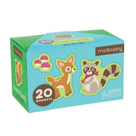 Stickers & Magnets :Box of Fun: Forest Friends (magnet set)