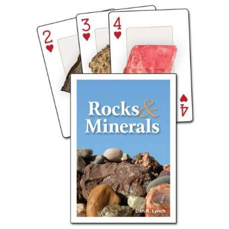 Playing Cards, Rock & Mineral Playing Cards