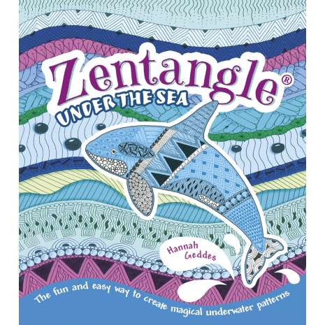 Drawing Books :Zentangle Under the Sea