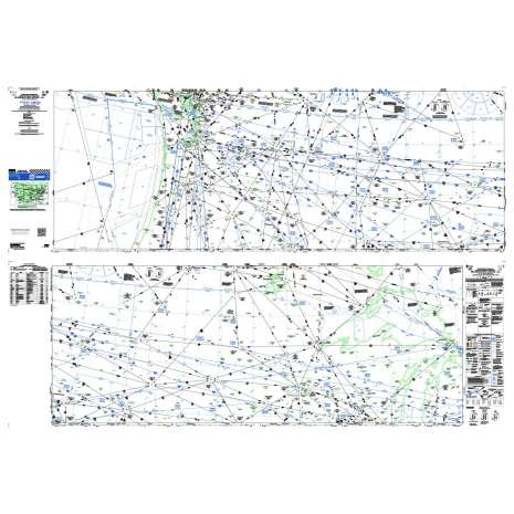 Enroute Charts, FAA Chart: High Altitude Enroute H 1/2