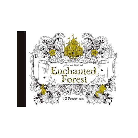 Journals, Cards & Stationary, Enchanted Forest Postcards