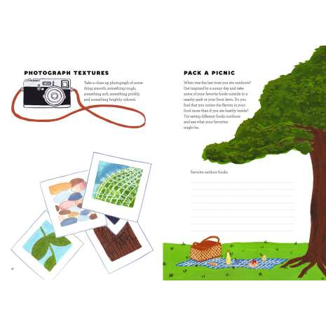 Children's Outdoors :Small Adventures Journal: A Little Field Guide for Big Discoveries in Nature