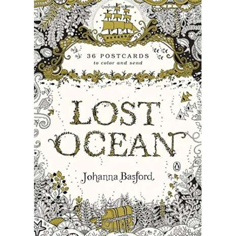Journals, Cards & Stationary, Lost Ocean: 36 Postcards