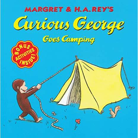 Children's Classics :Curious George Goes Camping