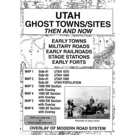 Historical Site and Related Guides :Utah Ghost Towns/Sites: Then and Now