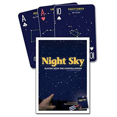 Journals, Cards & Stationary, Night Sky Playing Cards