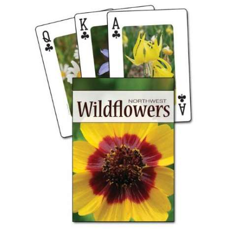 Playing Cards, Wildflowers of the Northwest Playing Cards