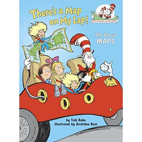 Geography & Maps :There's a Map on My Lap!: All About Maps