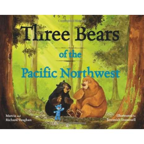 Bears, Three Bears of the Pacific Northwest