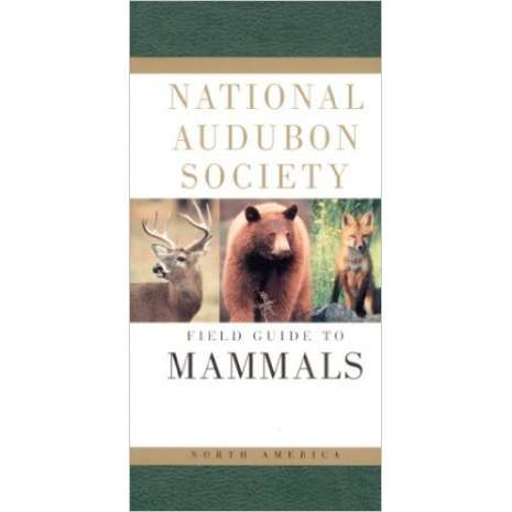 Reptile & Mammal Identification Guides :National Audubon Society Field Guide to North American Mammals, 2nd Edition
