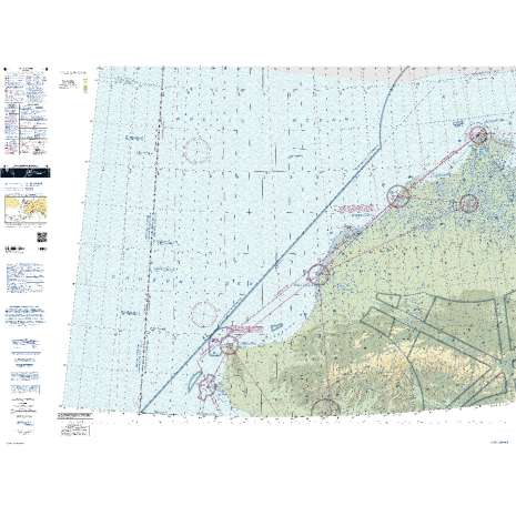 Sectional Charts, FAA Chart: VFR Sectional CAPE LISBURNE