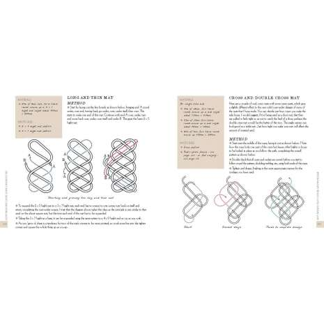 Knots, Canvaswork & Rigging, Des Pawson's Knot Craft and Rope Mats: 60 Ropework Projects Including 20 Mat Designs