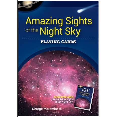 Playing Cards, Amazing Sights of the Night Sky Playing Cards