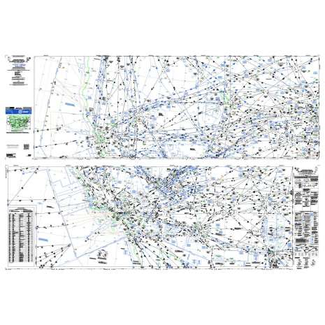 Enroute Charts :FAA Chart: High Altitude Enroute H 3/4