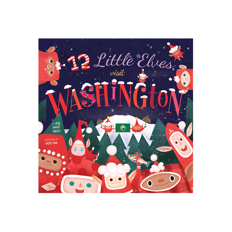 Holidays, 12 Little Elves Visit Washington