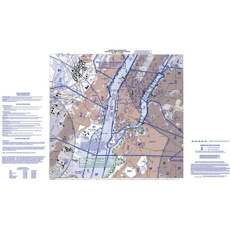 VFR: Helicopter Route Charts :FAA Chart: VFR Helicopter NEW YORK