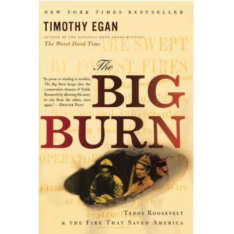 American History :The Big Burn: Teddy Roosevelt and the Fire that Saved America