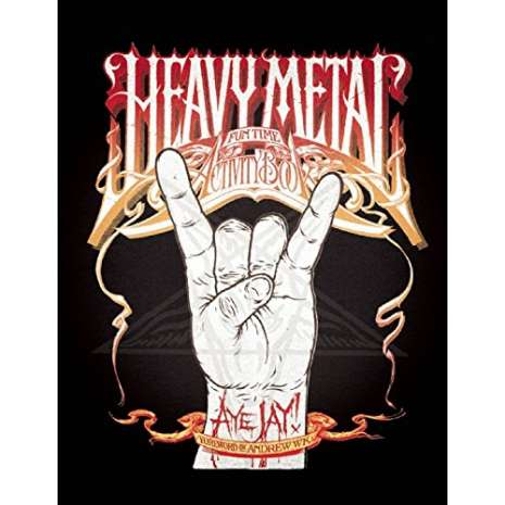Coloring Books :Heavy Metal Fun Time Activity Book