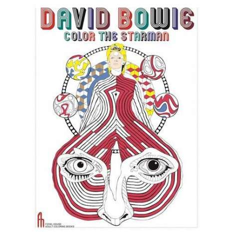 Adult Coloring Books, David Bowie: Color the Starman