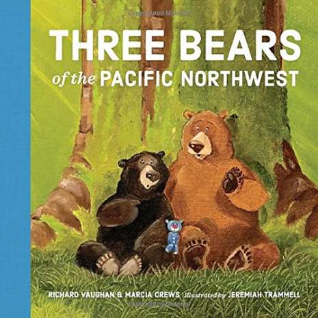 Board Books, Three Bears of the Pacific Northwest  BOARD