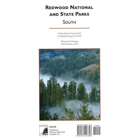 California Travel & Recreation, Redwood National and State Parks 4th Ed. - SOUTH SECTION