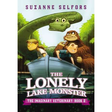 Young Adult & Children's Novels, The Lonely Lake Monster (The Imaginary Veterinary Book 2)
