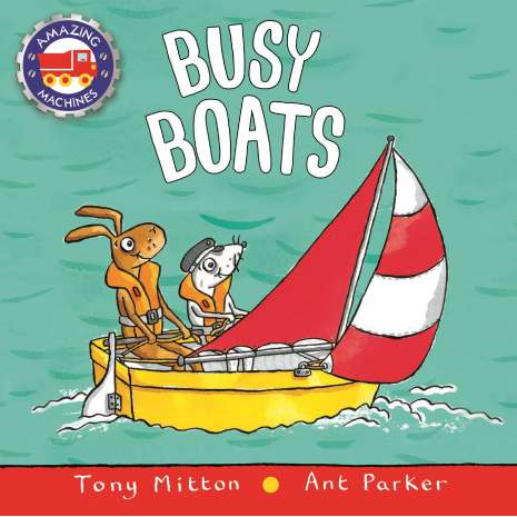 Boats, Trains, Planes, Cars, etc. :Busy Boats BOARD