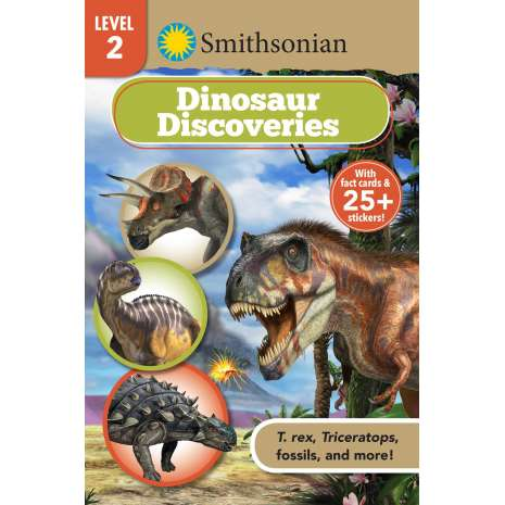 Young Readers :Dinosaur Discoveries (Smithsonian Readers Level 2)