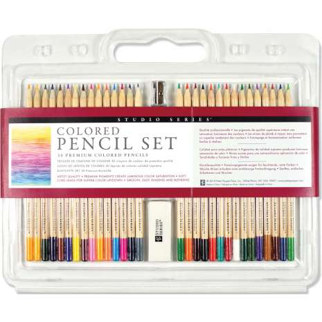 Postcards & Stationary :STUDIO SERIES COLORED PENCIL SET (SET OF 30)