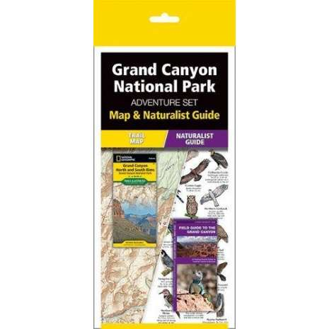 Rocky Mountain and Southwestern USA Travel & Recreation :Grand Canyon National Park Adventure Set: Map & Naturalist Guide