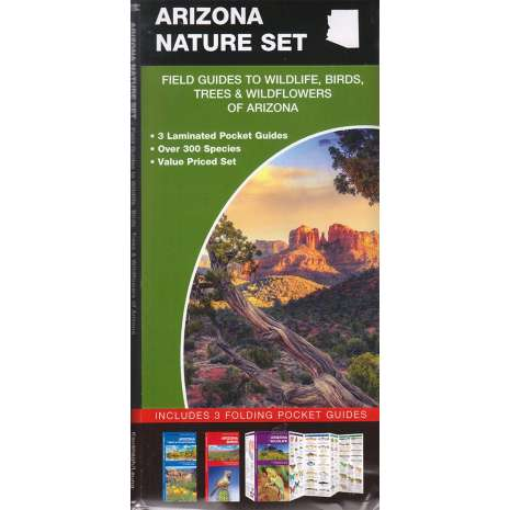 Rocky Mountain and Southwestern USA Travel & Recreation, Arizona Nature Set: Field Guides to Wildlife, Birds, Trees & Wildflowers of Arizona